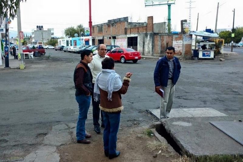 En atención a la instrucción del alcalde Alfonso Martínez, se implementan estrategias de contacto directo con la ciudadanía para promover el crecimiento ordenado de Morelia