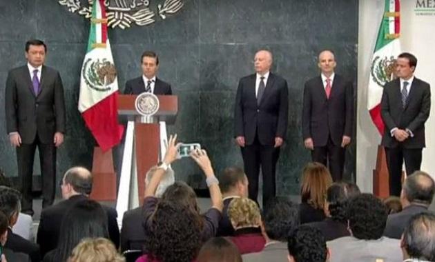 José Antonio González Anaya será el director de Pemex; José Narro será el nuevo secretario de Salud y en la dirección del IMSS fue nombrado Mikel Arreola, quien fungía como titular de la Cofepris
