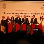 La región Zamora incluye ocho distritos judiciales y 41 municipios del estado de Michoacán
