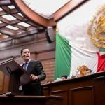 El presidente de la Comisión de Hacienda y Deuda Pública del Congreso del Estado presentó una iniciativa para reformas las Leyes del Agua y de Hacienda