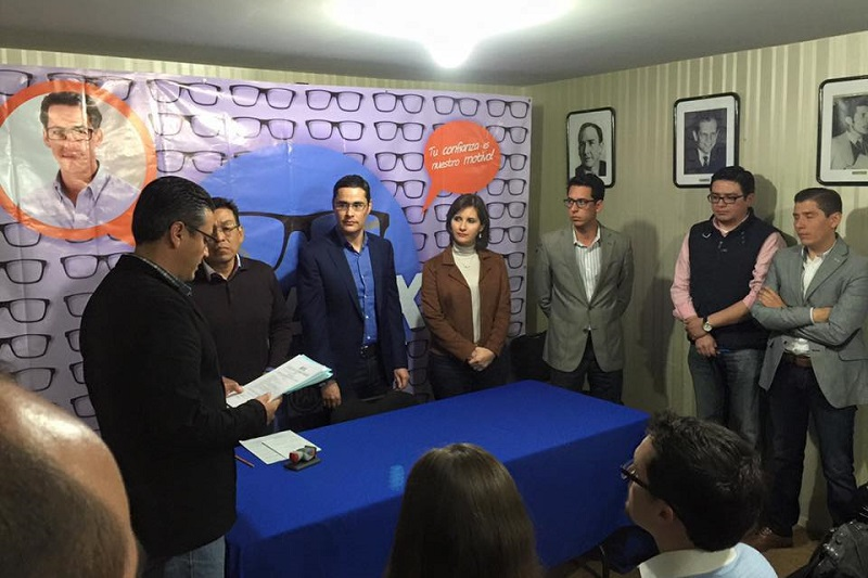 Javier Eduardo aseguró que su meta a corto plazo será unir a los panistas