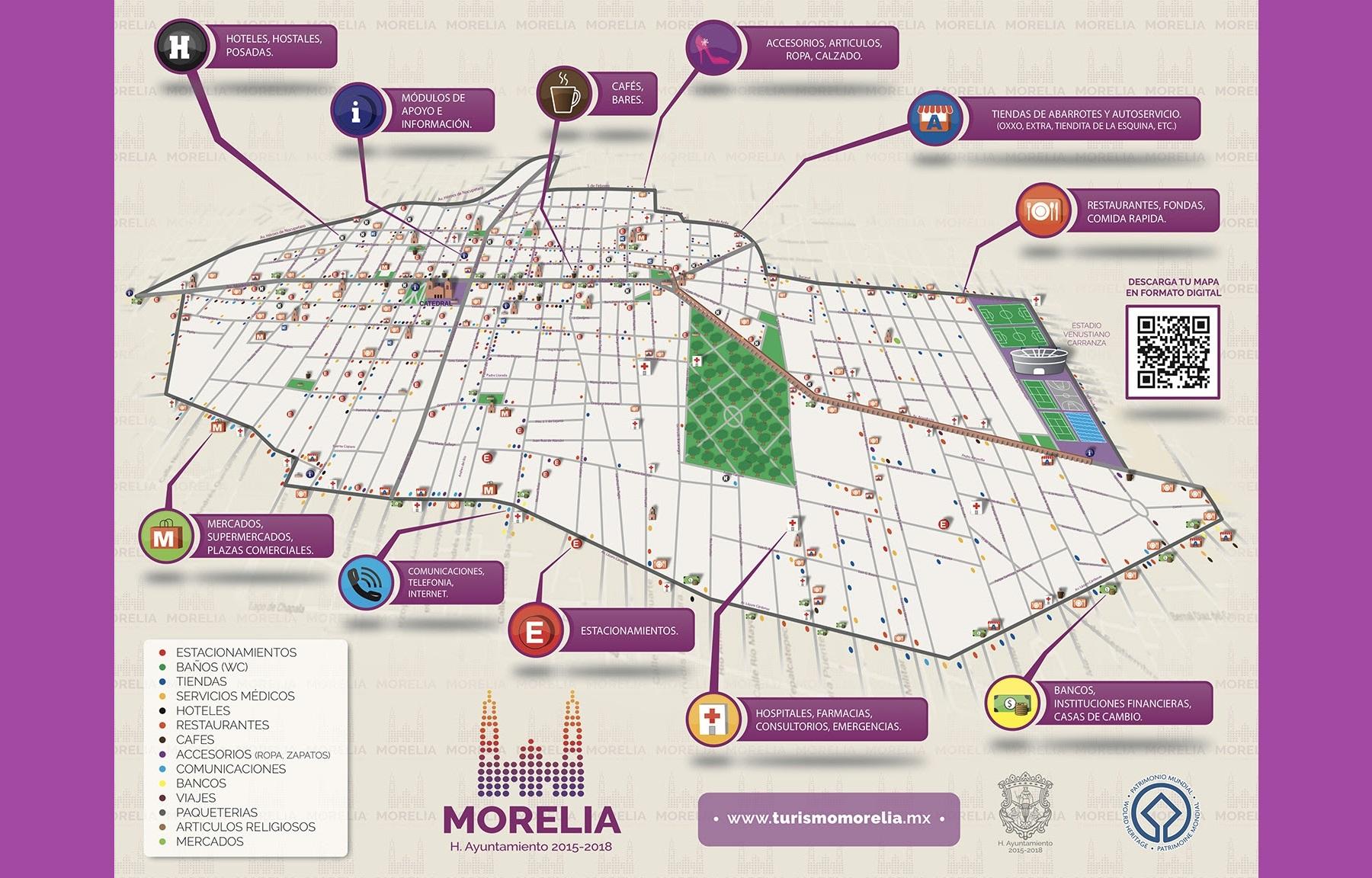 Secretaría de Turismo Municipal pone en función módulos de atención para visitantes.