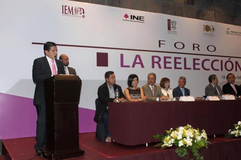 Núñez Aguilar agregó que es importante escuchar a los especialistas en el rubro y aseguró que del foro se rescatarán las ideas y las experiencias de los invitados expertos en materia política y electoral