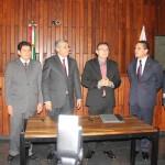 Asisten 18 diputados al Tercer Informe del Poder Judicial