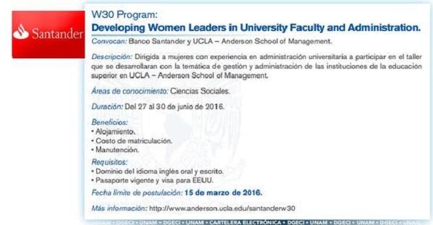 Oferta asociación bancaria para universidades del país, en materia de liderazgo