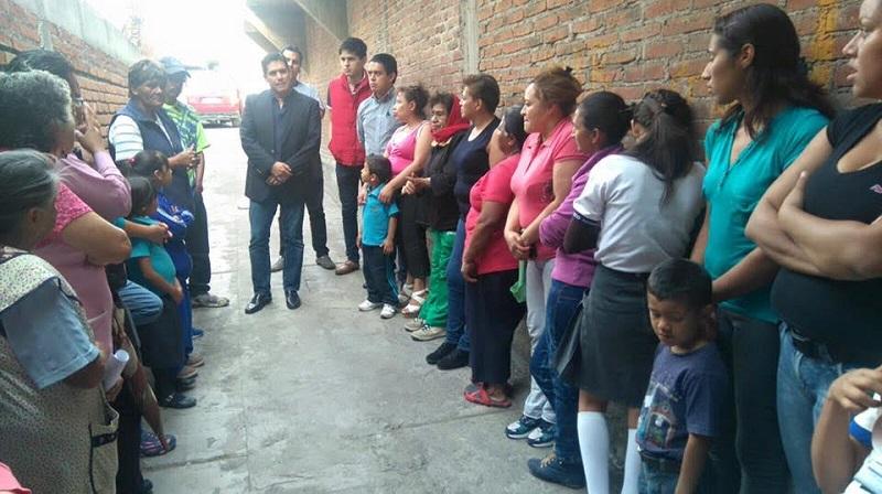 Núñez Aguilar comentó que estas actividades de regresar a las colonias para escuchar a sus representados también dan respuesta a su compromiso con la ciudadanía que le entregó su confianza