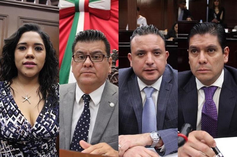 Con estos nombramientos, el Congreso de Michoacán fortalece los trabajos para la implementación, seguimiento y evaluación del Nuevo Sistema de Justicia Penal en Michoacán