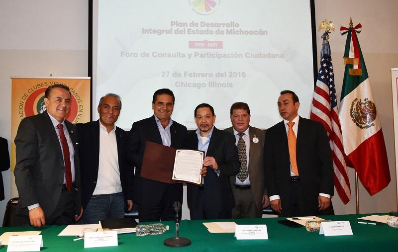 Esto, en el marco de la inauguración del histórico Foro Binacional de Consulta y Participación Ciudadana para la construcción del Plan Estatal de Desarrollo 2015-2021