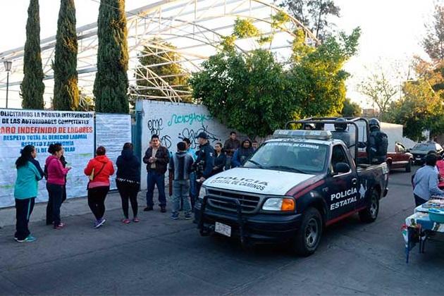 Elementos de la Secretaría de Seguridad Pública (SSP) de Michoacán ya llegaron al lugar