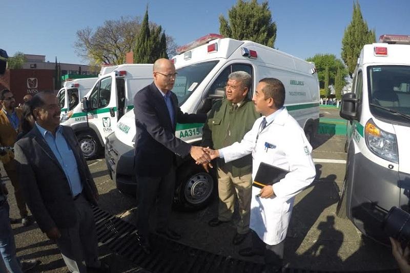 Se espera que para el próximo año se complemente la renovación del parque vehicular de las unidades médicas y hospitales