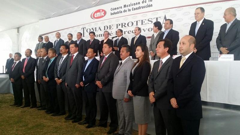 Jorge Tovar propuso una nueva alianza entre empresarios constructores y gobierno estatal por el desarrollo de la entidad