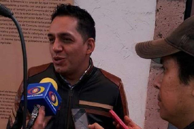 """Para Ruiz Ramírez, es importante que se impulse la participación ciudadana en Morelia y que sean los ciudadanos los que evalúen a los políticos; """"logramos que el tema del Ramal Camelinas sea un asunto se interés público"""", expresó"""