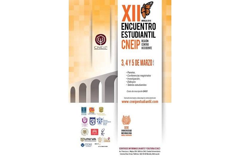 Estará presente como organizadora y participante la Universidad Michoacana de San Nicolás de Hidalgo