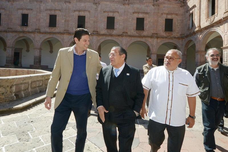 """Martínez Alcázar, resaltó que en particular, Morelia se encuentra en una """"franca recuperación y crecimiento"""" en cuanto al turismo se refiere"""