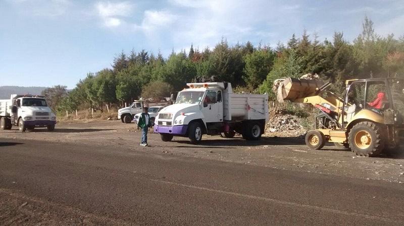 La Secretaría de Servicios Públicos desplegó brigadas en San Miguel del Monte