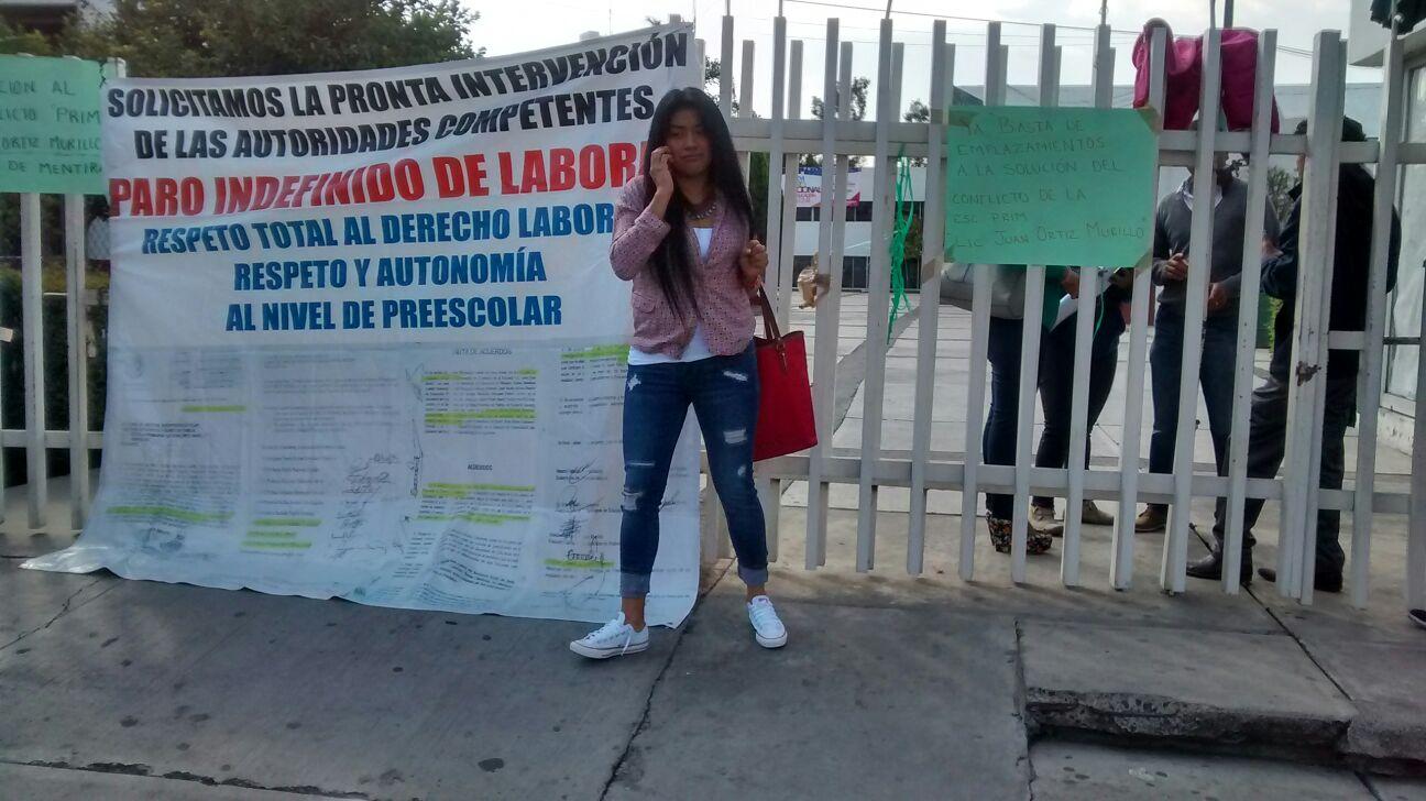 Una vez más, las oficinas centrales de la SEE se mantienen de puertas cerradas (FOTO: FRANCISCO ALBERTO SOTOMAYOR)