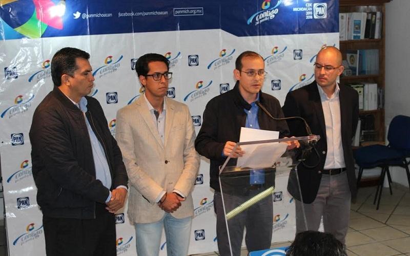 Exige Acción Nacional a aplicar la ley a Alfredo Castillo; dirigencia estatal y diputados locales lo denunciarán por la vía penal
