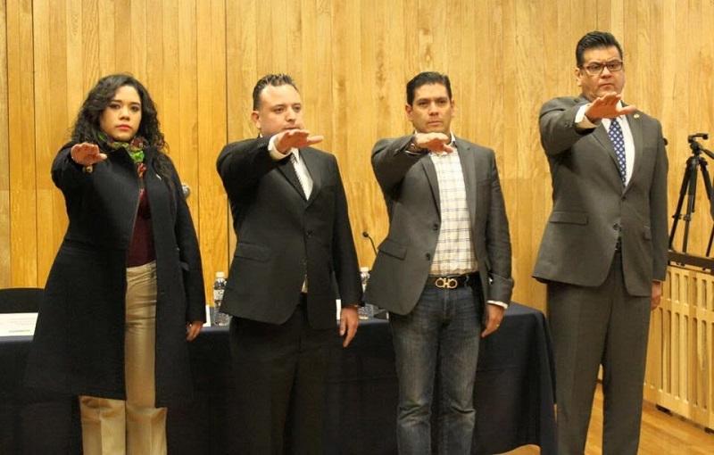 Esta mañana fueron nombrados consejeros los diputados Ernesto Núñez Aguilar, Xóchitl Ruiz González, Juan Bernardo Corona y Carlos Quintana Martínez
