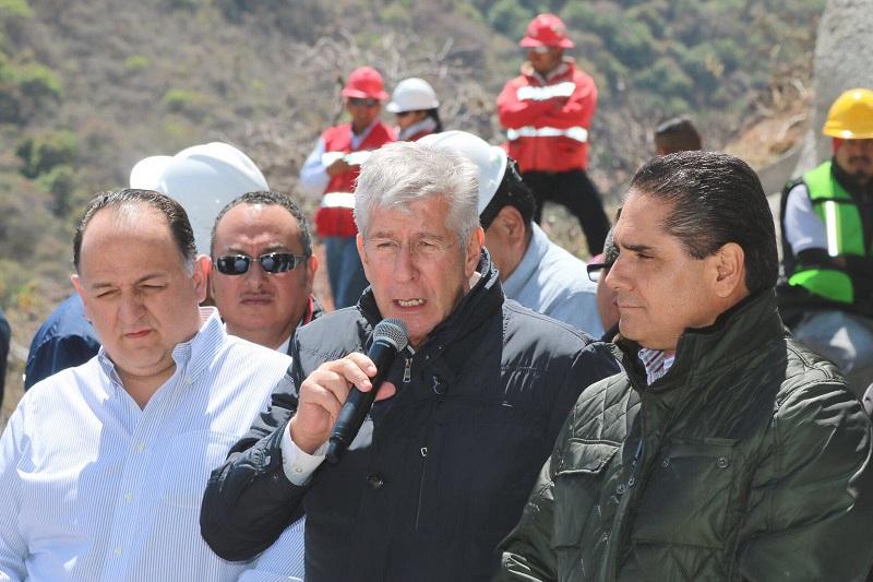 Silvano Aureoles, intenso gestor a favor de Michoacán, recalcó el secretario Gerardo Ruiz Esparza