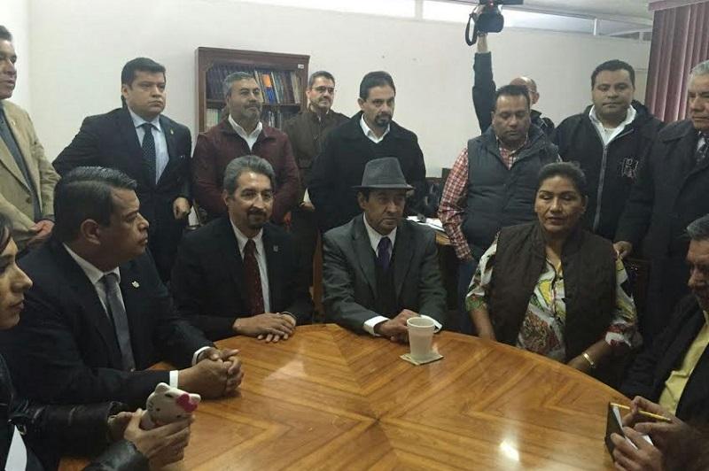 Serna González destacó el cumplimiento al mandato emitido por el presidente de la JLCA, Hill Arturo del Río Ramírez, para iniciar el diálogo con la Comisión Revisora del SUEUM