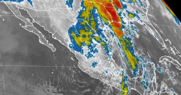 El nuevo sistema frontal, posible número 47, se aproximará al noroeste de la nación y por la noche ingresará a Baja California, moviéndose a Sonora en las primeras horas del sábado