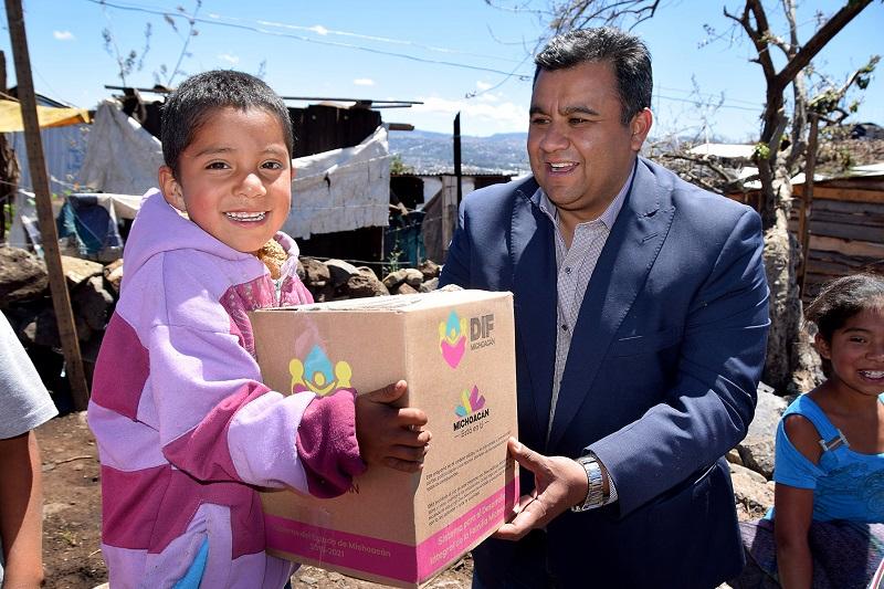 El Sistema DIF Michoacán, en colaboración con otras dependencias, seguirá trabajando en coordinación para hacer llegar la ayuda a aquellas familias que hayan sufrido complicaciones debido al mal tiempo