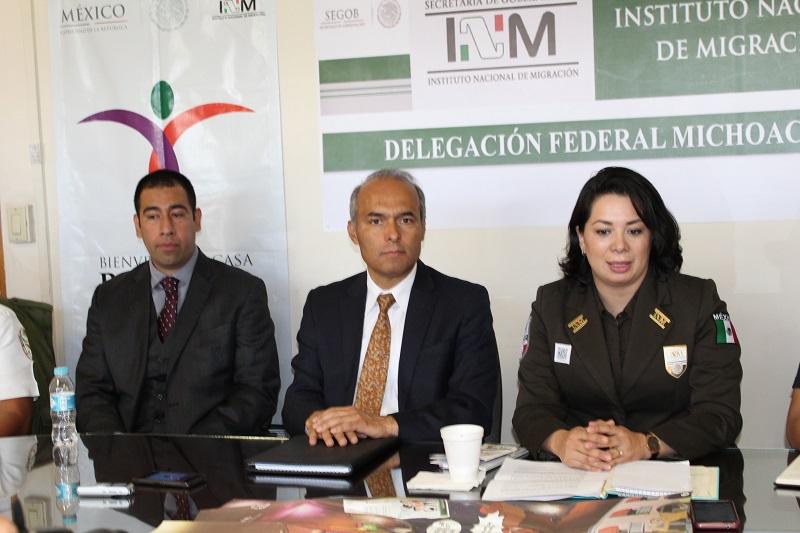 Dependencias federales y estatales suman esfuerzos para garantizar el ingreso y tránsito seguro de los connacionales
