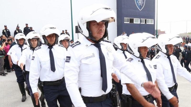 La vigilancia en patrullas supera las 50 unidades durante el día, además se cuenta con el apoyo de Gendarmería, Policía Militar y de la Secretaría de Seguridad Pública del Estado