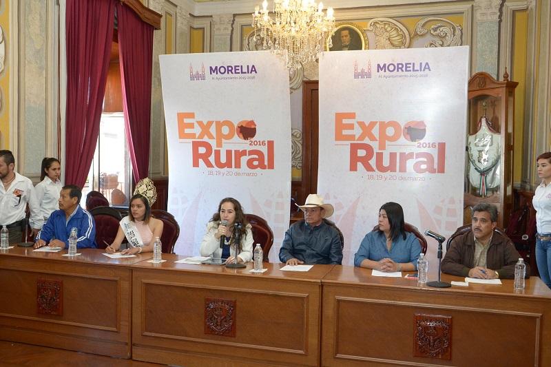 Por primera vez se traslada a la cabecera municipal; expondrán riqueza agrícola, ganadera y servicios de las 14 tenencias
