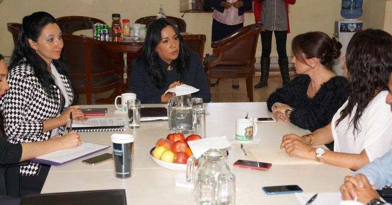 Regidores del Ayuntamiento de Morelia sostienen reunión de trabajo con personal de la CEDH