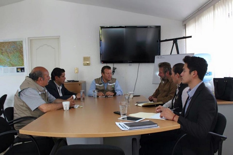 El diputado pidió apoyo del Coeeco para que las iniciativas de ley sobre el tema ecológico estén fundamentadas por los expertos en el área y tengan mayor impulso en el pleno