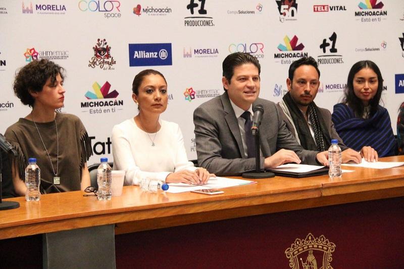 Con este tipo de producciones, Morelia mostrará que es la ciudad más bonita de México y del mundo: Alfonso Martínez