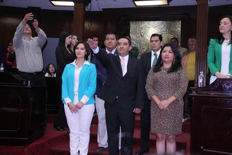 La terna fue integrada por Luis Arturo Soledad Vázquez, Jorge Enrique Rivera Torres y Cesar Enrique Palafox Quintero, de la cual resultó electo éste último, con 36 votos a favor