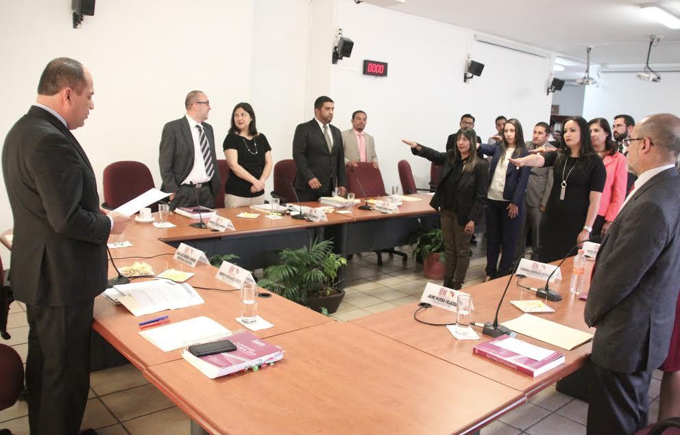 Claudia Álvarez Medrano será la nueva titular del Departamento de Comunicación Institucional, y Sergio Torres Delgado fue ratificado como titular del Departamento de Acceso a la Información Pública