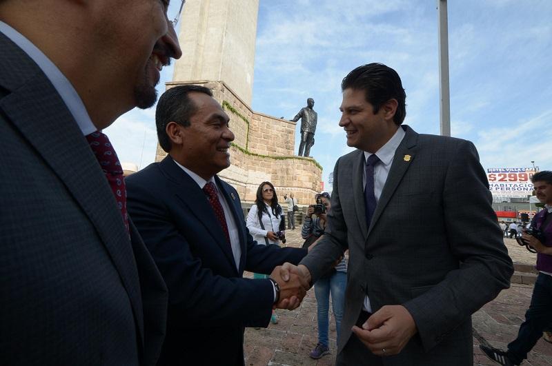 José Vanegas resaltó que este día también se recuerda a uno de los estadistas más importantes del país, quien además de consolidar la independencia económica nacional, la fortaleció