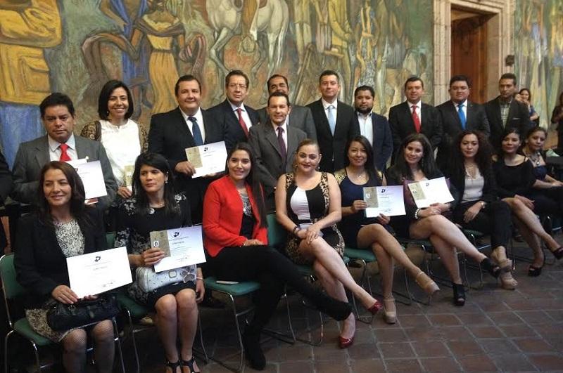 Al finalizar el Presidente del Colegio de Abogados en el Estado, Edgar Hugo Rojas, socializó con los asistentes sobre la importancia de la colegiación de los abogados y los retos que ello implica