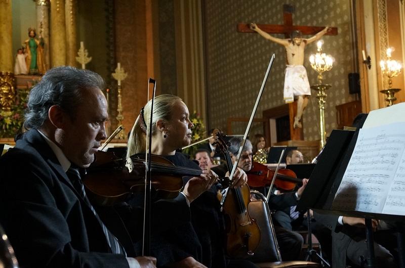 Con la presencia de German Martínez Ramos, director de Cabildo y Juan Carlos Mata director de Patrimonio Cultural de Morelia, cientos de morelianos disfrutaron del concierto en el  templo de San José