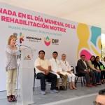 DIF Michoacán conmemora el Día Mundial de la Rehabilitación Motriz