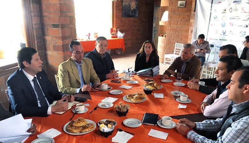 El alcalde ofreció trabajo coordinado para detonar el desarrollo de Ciudad Industrial