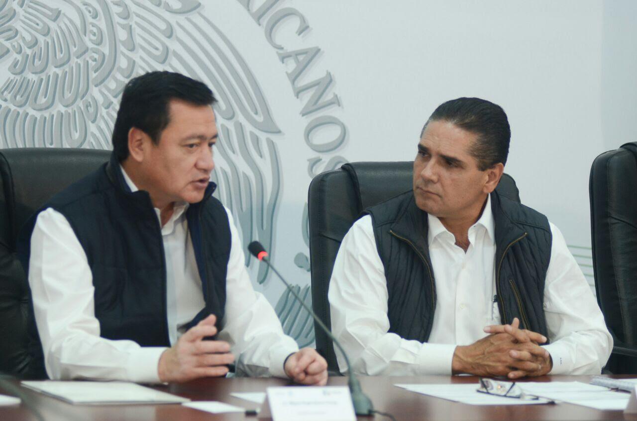 El encargado de la política interna del país, afirmó que Michoacán seguirá contando con el apoyo total y absoluto de la Federación, tras señalar que el estado ha logrado importantes avances en el renglón de seguridad