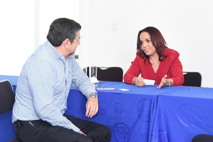 Luego de una reunión que sostuvo con el presidente de la AIEMAC, la diputada del Distrito XVII refrendó su interés de trabajar en beneficio de la Zona Industrial