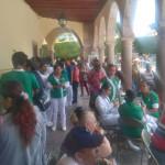 Además, estudiantes de la carrera de Enfermería también participaron en las jornadas de vacunación antirrábica en La Piedad