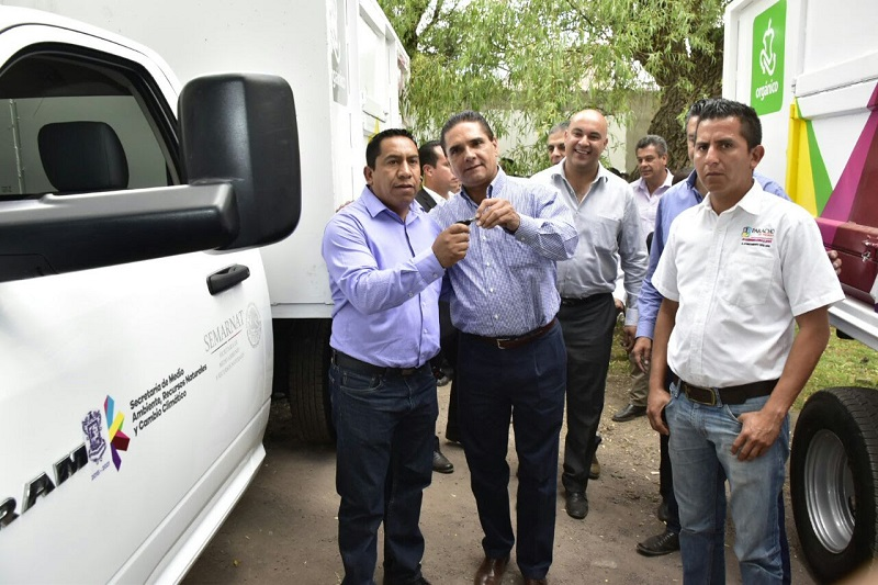 Michoacán será un estado de vanguardia en el manejo ambiental: Aureoles Conejo