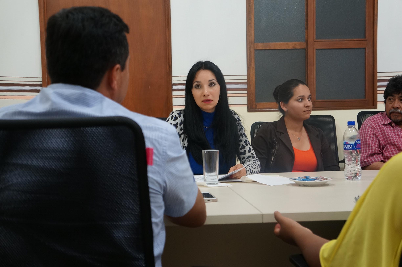 Alma Bahena Villalobos sostuvo una reunión con representantes de la Unión de Locatarios del conocido mercado