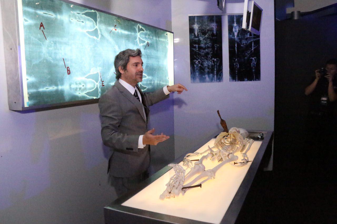 La exposición cuenta con 250 elementos de los cuales 50 pertenecen a sus fechas originales que datan del Siglo I