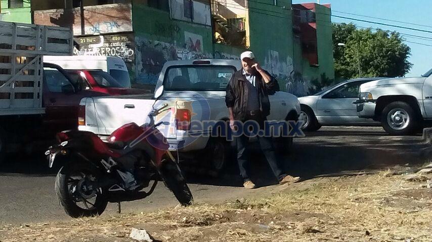 Al lugar arribaron elementos de la Policía Michoacán, Unidad Morelia (FOTO: MARIO REBO)