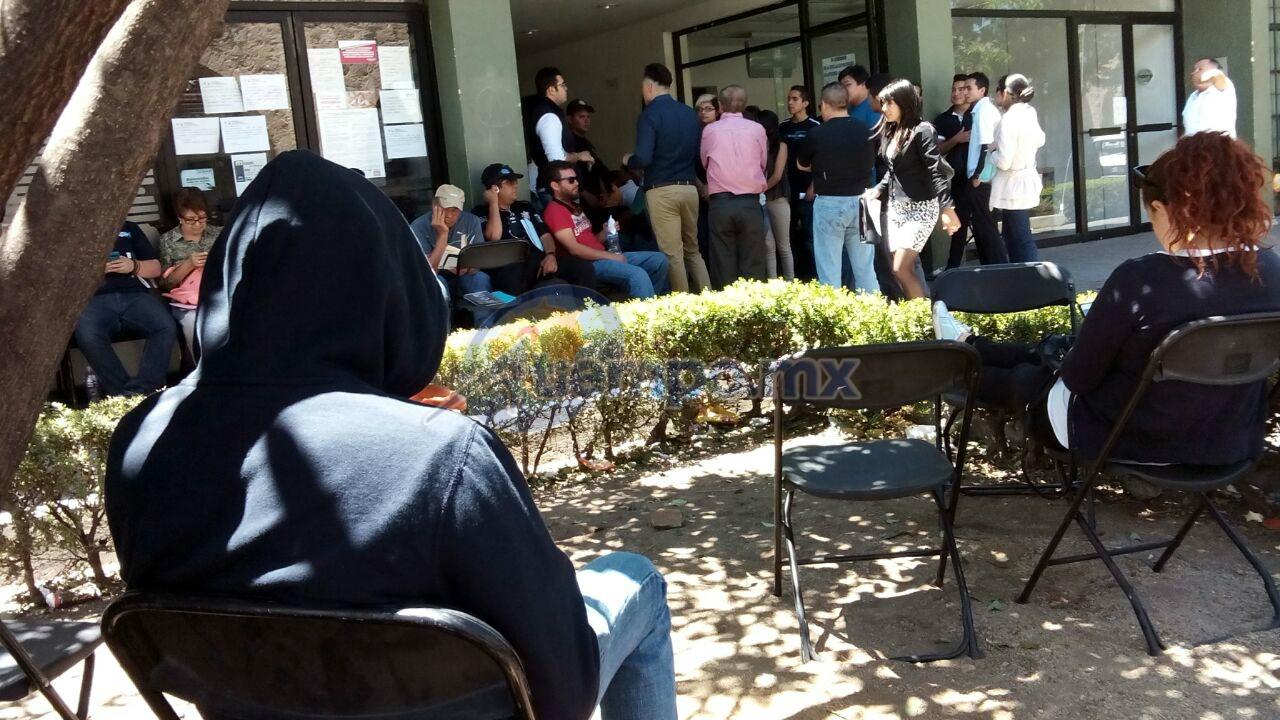 Los hechos se reportaron en el módulo ubicado en la Avenida Acueducto de Morelia (FOTO: MARIO REBO)