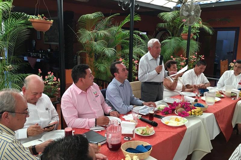 Se ejercerán recursos por el orden de los 400 mdp para el desarrollo económico de Michoacán: Soto Sánchez; se impulsa la generación de industria para crear 48 mil empleos al mes, aseguró