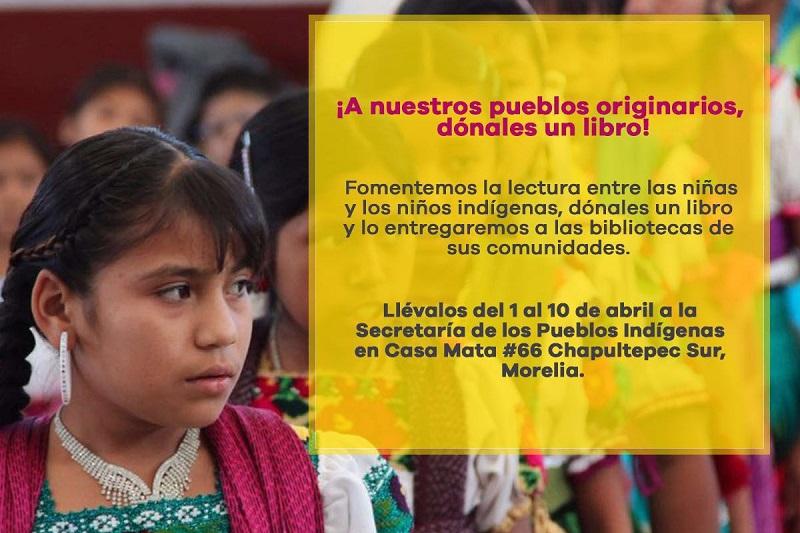 Alonso Molina manifestó que todo michoacano y michoacana que ha tenido acercamiento a la lectura, es consciente de que los libros son capaces de regalar momentos de conocimiento e ilusión a los niños