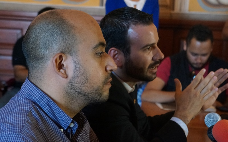 Por su parte, el secretario de Innovación y Efectividad Gubernamental, Antonio Plaza Urbina hizo hincapié en que este sistema está orientado a la seguridad de las personas